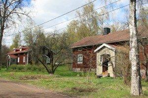 Edöntien suojeltu työläisasuntoraitti - Det skyddade arbetarhusstråket på Edövägen